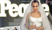 Angelina Jolie et Brad Pitt et de montrer leurs photos de mariage