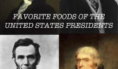 19 aliments préférés des présidents des Etats-