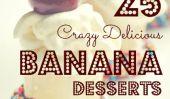 Go Bananas!  25 des meilleurs Recettes banane de dessert