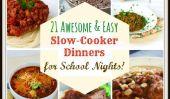21 Délicieux repas à la mijoteuse pour Nuits scolaires