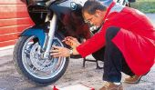 À la moto Nettoyer les disques - comment cela fonctionne: