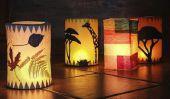 Lanternes - idées pour l'artisanat