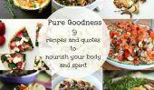 Nourrir le corps et l'esprit: 9 Nourrissant Quotes Alimentation et recettes