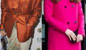 Vivienne Westwood a pris part Kate Middleton: top de la mode, le maquillage flop,
