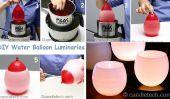 Luminaires eau ballon bricolage