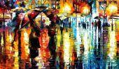 Colorful Peintures Palette couteau de Leonid Afremov