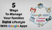 5 façons intelligentes d'utiliser Google Apps pour rester organisé