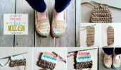 DIY Moccasin Tribal Crochet - Patron Gratuit