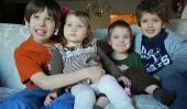 Une année dans Photos: Photos de mes enfants le même jour chaque mois en 2011