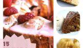 15 Festive et recettes de gâteaux simples pour la Célébration du Nouvel An