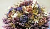 Fleurs sécher correctement - les meilleures pratiques