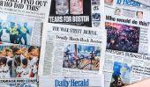 NOUVELLES DE RUPTURE: Un marathon de Boston Bombardement suspect est mort, l'autre est toujours en fuite