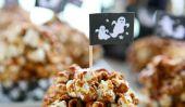10 Popcorn boule Recettes pour l'Halloween