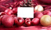 Un texte plein d'esprit pour une invitation au poste de Noël - Idées