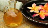 Utiliser de l'huile de pépins de raisin pour masser - comment cela fonctionne: