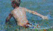 Matthew Davisa € ™ unique Piscine Peintures à l'huile