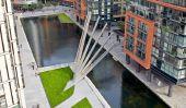 Nouveaux pliantes Pont Ouvre et de Londres se ferme comme un ventilateur