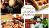20 façons d'utiliser une Coupe du babeurre