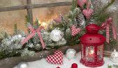 Noël pour la fenêtre - les 9 meilleures idées