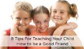 8 conseils pour l'enseignement à votre enfant comment être un bon ami