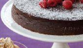 Flourless Chocolat-Chili gâteau pour célébrer notre gagnant (et de Noël, aussi!)