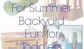 10 idées pour l'été Backyard Fun Pour les tout-petits