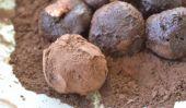 Une truffe au chocolat Recette facile