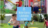 25 Jeux d'eau et Activités pour les enfants