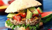 Ultime Turquie et haricots noirs Burgers