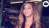 Coiffure Panne: Beyoncé montre avec Frange