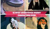 18 La plupart des personnages monstrueux Disney et Pixar JAMAIS