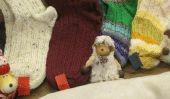 Sock Knitting avec motif Norvégien - Step-by-Step Guide