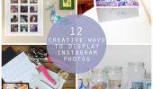 12 façons créatives pour afficher vos photos Instagram