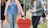 Kim Kardashian et Kate Middleton: Qui a une meilleure style post-bébé?  (Photos)