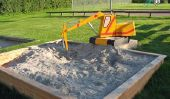 Choisissez jeu sable pour le bac à sable correctement - si ça va marcher