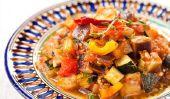 Beaucoup d'hydrates de carbone de la nourriture - une recette pour les fins d'un régime faible en glucides