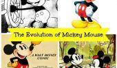 L'évolution de Mickey Mouse: De Steamboat Willie à aujourd'hui!