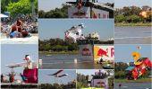 Homemade Flying Machines Airshow Red Bull Flugtag à, Tel Aviv, 2011
