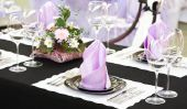 Faire des décorations de table pour la communion elle-même