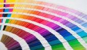 Conception du mur coloré - afin d'obtenir votre maison une touche plus chaud