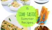 Cuisiner avec Fresh Lime: 15 Summer-Ready Lime Recettes
