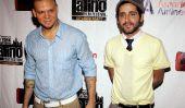 Day Parade portoricaine pré-célébration détenus par les fonctionnaires de New York pour honorer Calle 13 comme les «rois de la Parade '