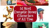 16 les plus énergiques les Personnages Disney de tous les temps