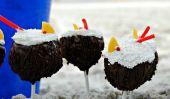 """Dessert Hack: Piña Colada """"gâteau"""" Pops"""