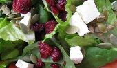 Graine de citrouille, Cranberry & Feta Salade