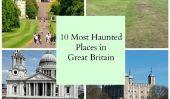 Les 10 plupart des lieux hantés en Grande-Bretagne