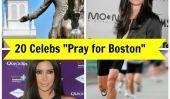 Marathon de Boston tragédie: Kim Kardashian, Bethanny Frankle et 18 Plus Célébrités réagissent sur Twitter