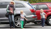Naomi Watts et ses garçons Découvrez la Brentwood Country Mart!  (Photos)