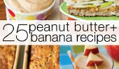 25 Peanut Butter and Banana Recettes Elvis approuverait!