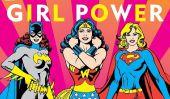 DC Super Heroes bandes dessinées Spotlights héroïnes, émancipation des filles